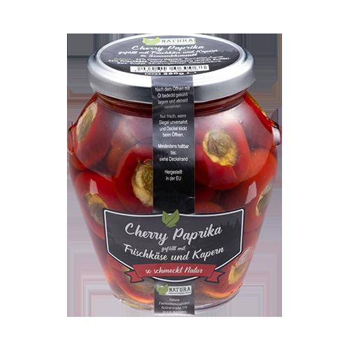 Produktbild Cherry Paprika Frischkäse Kapern