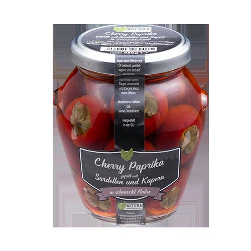 Produktbild Cherry Paprika Sardellen und Kapern
