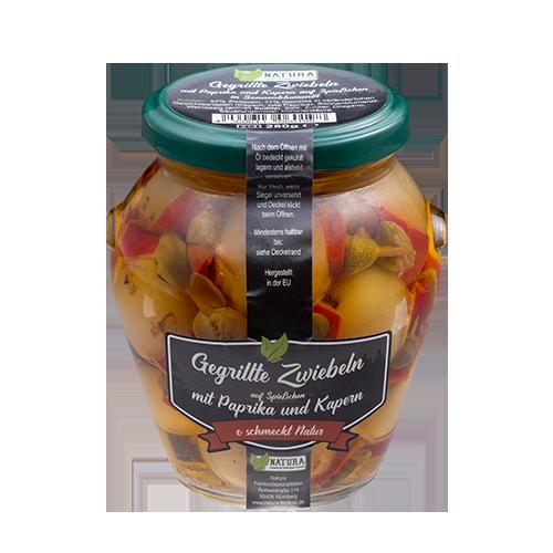 Produktbild Gegrillte Zwiebeln mit Paprika und Kapern