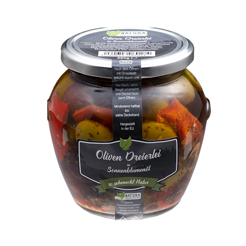 Produktbild Oliven Dreierlei