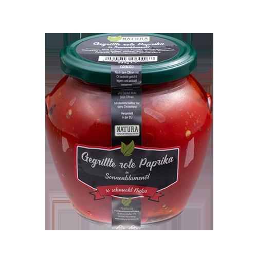 Produktbild Gegrillte rote Paprika